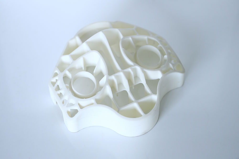 Silicone part for robot