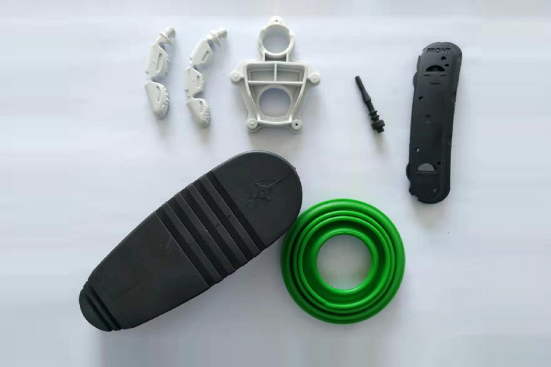 Customized molded parts